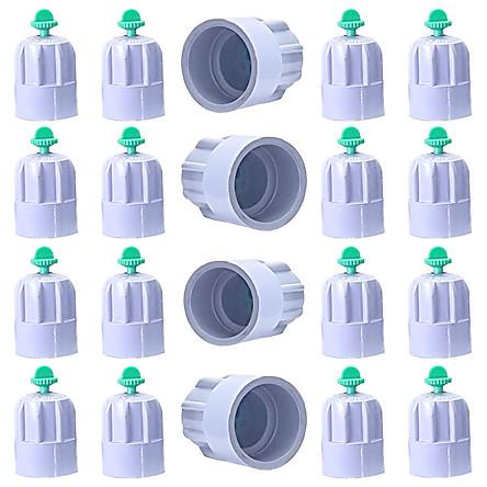 Béc bít phun nước ngang họng phun 6 ly dùng ống PVC phi 21 BN-BIT PVC