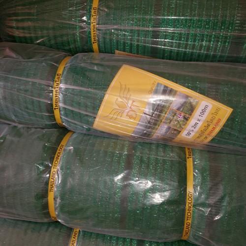 Lưới che nắng xanh 50% khổ ngang 2m dài 100m công nghệ Thái lan