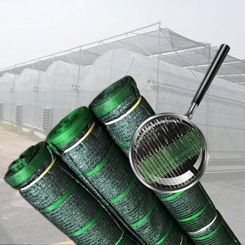 Lưới che nắng đen 50% khổ ngang 2m dài 100m công nghệ Thái lan