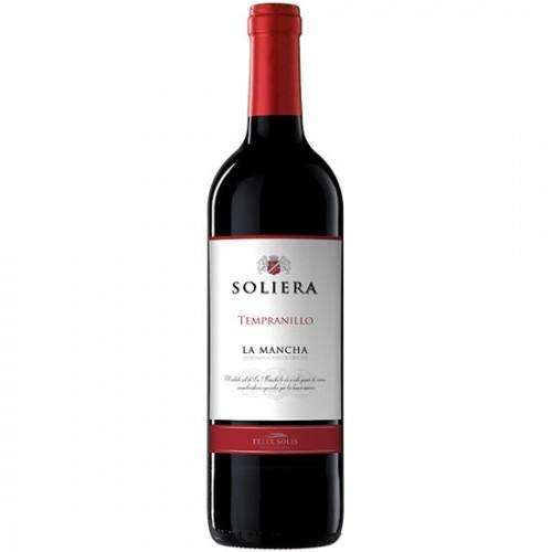 Rượu Vang Tây Ban Nha Soliera La Mancha Tempranillo 750ml