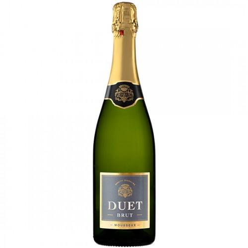 Rượu vang trắng sủi bọt Tây Ban Nha DUET Mousseux Brut 750ml