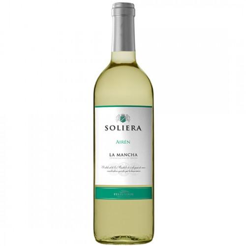 Rượu Vang trắng Tây Ban Nha Soliera La Mancha Airen 750ml