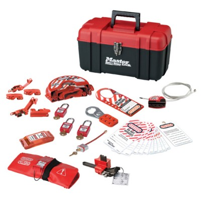 Hộp công cụ cá nhân cho khóa van và điện Master Lock 1457VE410KA
