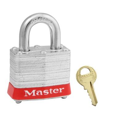 Khóa móc an toàn bằng thép nhiều lớp màu đỏ Master Lock 3RED