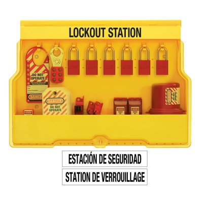 Trạm khóa treo tường để khóa điện Master Lock S1850E1106