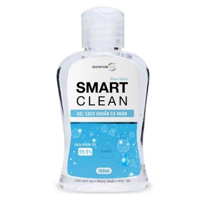Nước rửa tay sạch khuẩn SMART CLEAN 100ml