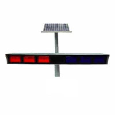 Đèn báo đôi xanh đỏ năng lượng mặt trời Hi-Q DLB-BR24