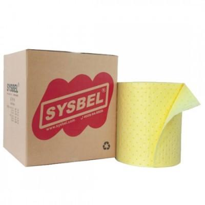 Cuộn giấy hấp phụ hóa chất nguy hại 120 lít SYSBEL SCR002