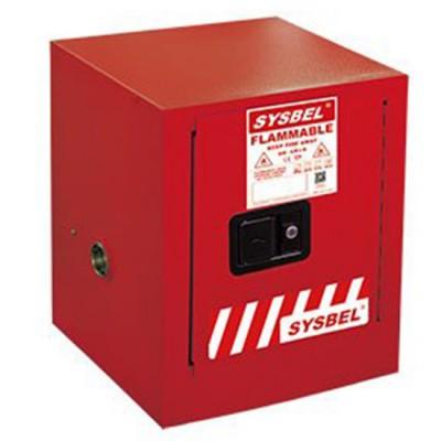 Tủ chứa chất cháy được 4 Gallon SYSBEL WA810040R một cửa không tự đóng