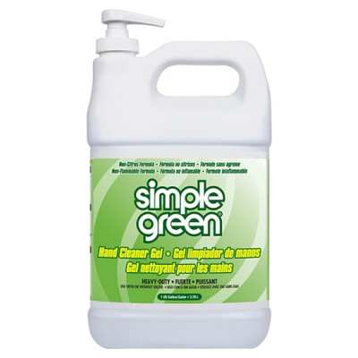 Bình kem rửa tay dính dầu mỡ 3.8l Simple Green Hand Gel Cleaner
