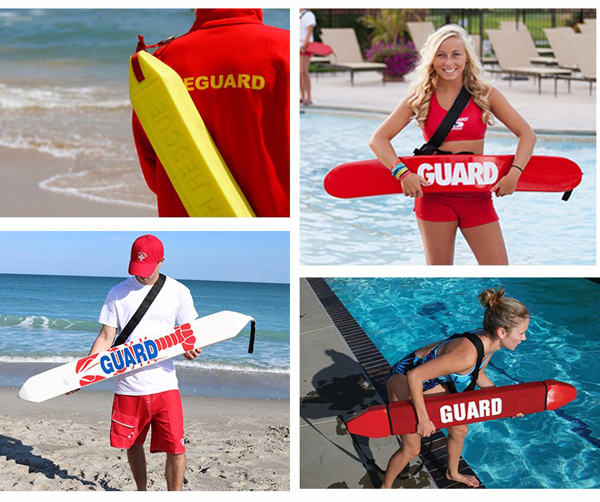 ong cuu ho mau vang cho be boi lifeguard rescue tube 1